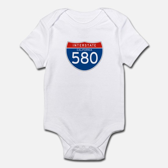 Interstate 580 - CA Infant Bodysuit