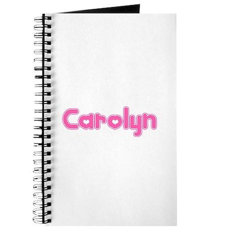 """""""Carolyn"""" Journal"""