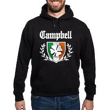 Campbell Shamrock Crest Hoodie