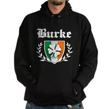 Burke Shamrock Crest Hoodie