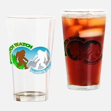Sasquatch Yeti Match Up Drinking Glass