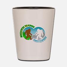 Sasquatch Yeti Match Up Shot Glass
