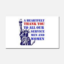 Thank You Car Magnet 20 x 12