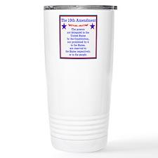 The 10th AMENDMENT Travel Mug