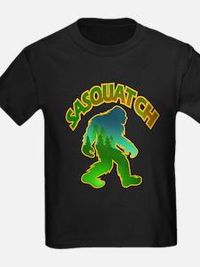 Sasquatch Forest Scene T-Shirt