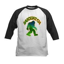 Sasquatch Forest Scene Baseball Jersey