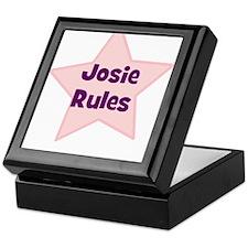 Josie Rules Keepsake Box