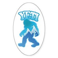Yeti Mountain Scene Decal