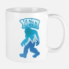 Yeti Mountain Scene Mug