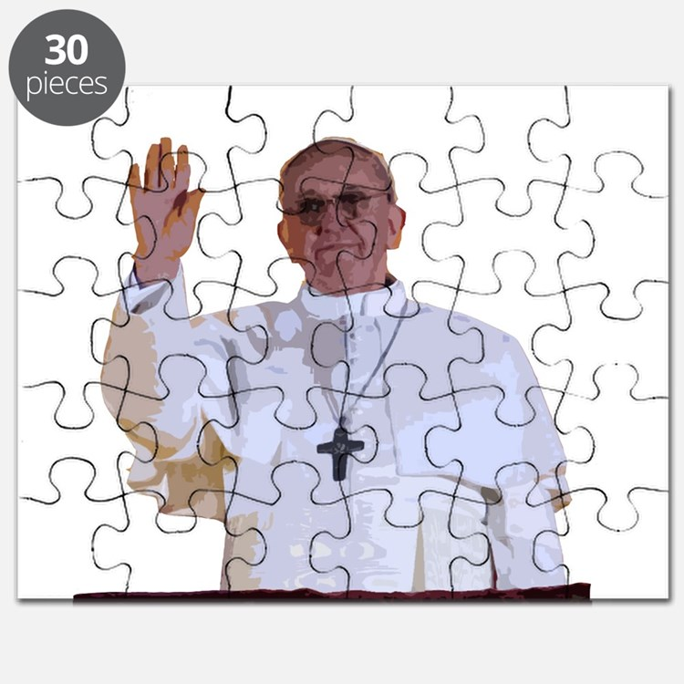 Pope Francis I Puzzle