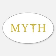 MYTH Sticker (Oval)