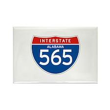 Interstate 565 - AL Rectangle Magnet