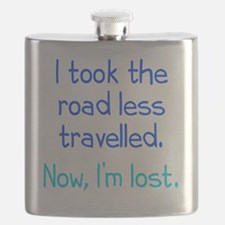 Road Less Travelled Flask