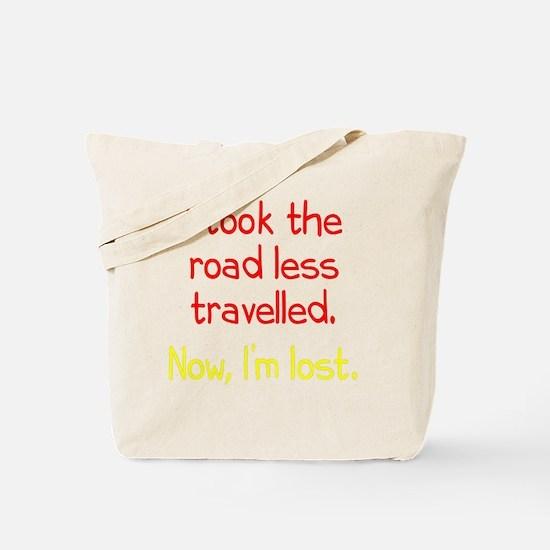 Road Less Travelled Tote Bag