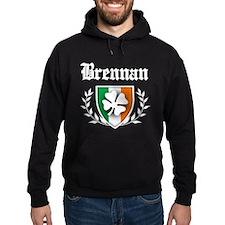 Brennan Shamrock Crest Hoodie