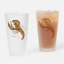 Northern Lobster Drinking Glass