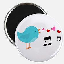 "Singing Blue Bird 2.25"" Magnet (100 pack)"
