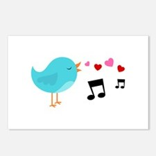 Singing Blue Bird Postcards (Package of 8)