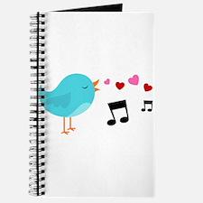 Singing Blue Bird Journal