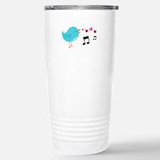 Singing Blue Bird Travel Mug