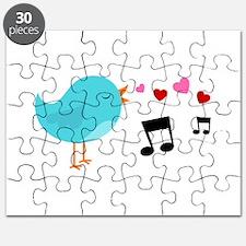 Singing Blue Bird Puzzle