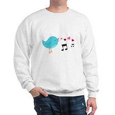 Singing Blue Bird Sweatshirt