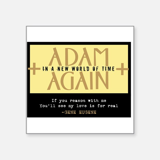 Adam Again New World of Time 2 Sticker