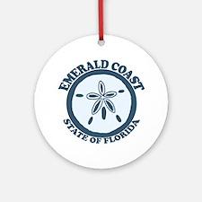 Emerald Coast - Sand Dollar. Ornament (Round)