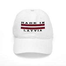 Latvia Made In Baseball Cap