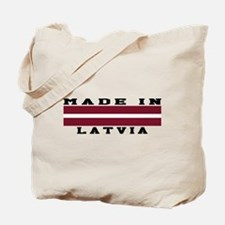 Latvia Made In Tote Bag