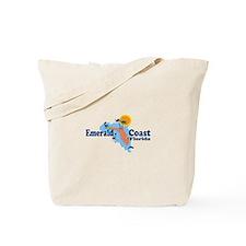 Emerald Coast - Surf Design. Tote Bag
