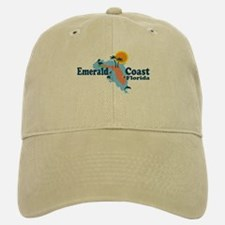 Emerald Coast - Surf Design. Baseball Baseball Cap