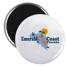 Emerald Coast - Surf Design. Magnet