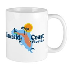 Emerald Coast - Surf Design. Mug