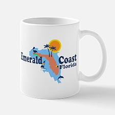 Emerald Coast - Surf Design. Mug