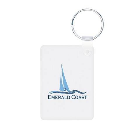 Emerald Coast - Sailing Design. Aluminum Photo Key