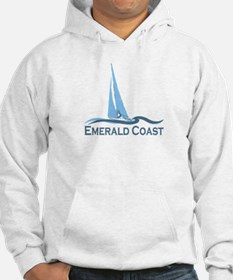 Emerald Coast - Sailing Design. Hoodie