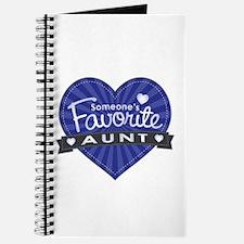 Favorite Aunt Blue Journal