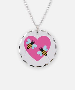 Cute Honey Bees Necklace