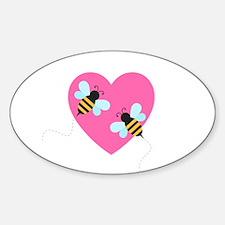 Cute Honey Bees Decal