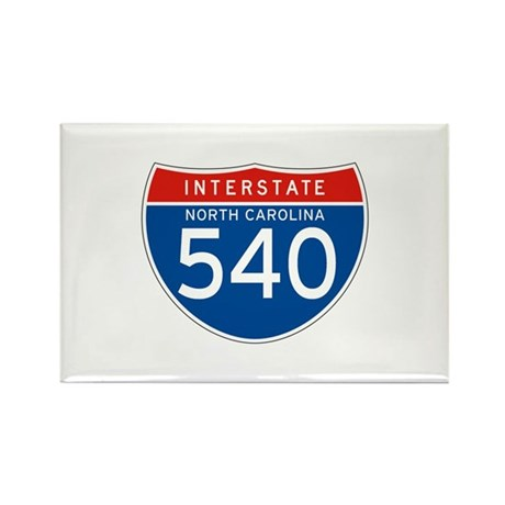 Interstate 540 - NC Rectangle Magnet (10 pack)