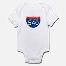 Interstate 540 - NC Infant Bodysuit