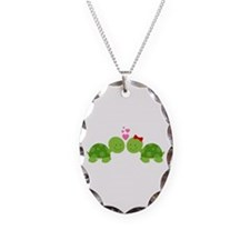 Turtles in Love Necklace
