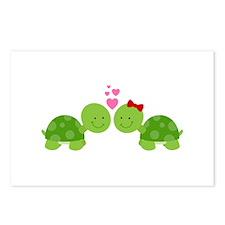 Turtles in Love Postcards (Package of 8)