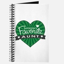 Favorite Aunt Green Journal