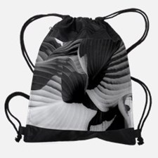 Leaves sp.jpg Drawstring Bag