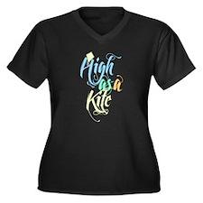 High As A Kite Plus Size T-Shirt