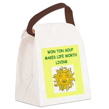 WONTON Canvas Lunch Bag
