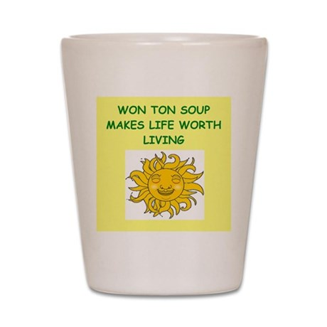 WONTON Shot Glass