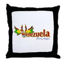 Venezuela, Diablo, Small n light Throw Pillow